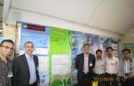 غرفه ی مرکز تحقیقات کاشی گر در اولین کنفرانس فناوری های معدن کاری ایران در دانشگاه یزد به روایت تصویر