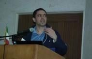 برگزاری مراسم سخنرانی دکتر محسن یحیایی در دانشگاه شهید باهنر کرمان