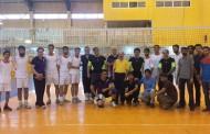 پیروزی مقتدرانه تیم والیبال اساتید بخش مهندسی معدن مقابل دانشجویان معدن ۹۱