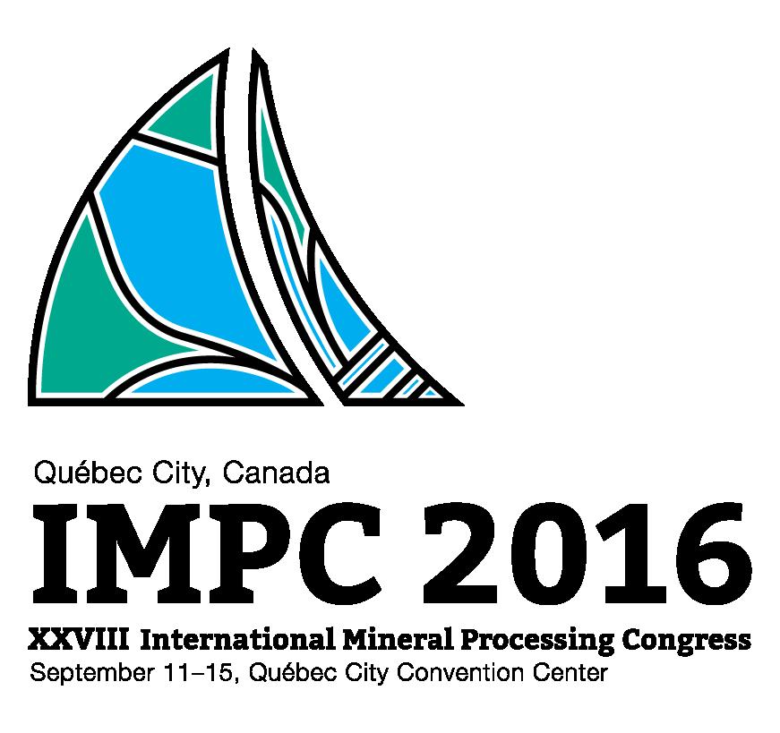 شرکت فعال مرکز تحقیقات کاشی گر در بیست و هشتمین کنگره بین المللی فرآوری مواد معدنی در کانادا (IMPC 2016; XXVIII International Mineral Processing Congress, September 11-15, Québec City)