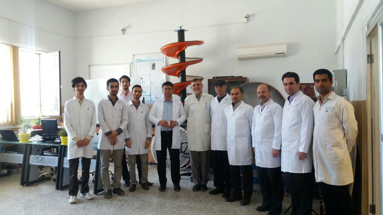 بازدید اعضای هیات علمی بخش مهندسی معدن دانشگاه شهید باهنر کرمان از مرکز تحقیقات فرآوری مواد کاشی گر