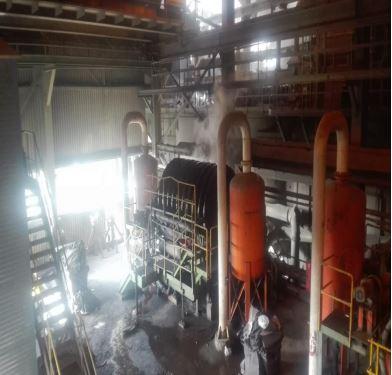جلسه هفتگی استانداردسازی فرآیندها در کارخانه های گل گهر: بازرسی فرآیندی آبگیری بخش تر کارخانه تغلیظ مگنتیت