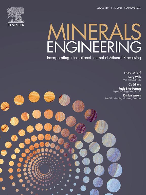 "انتشار مقاله ای تحت عنوان ""DEM-based design of feed chute to improve performance of cone crushers"" در مجله Minerals Engineering"