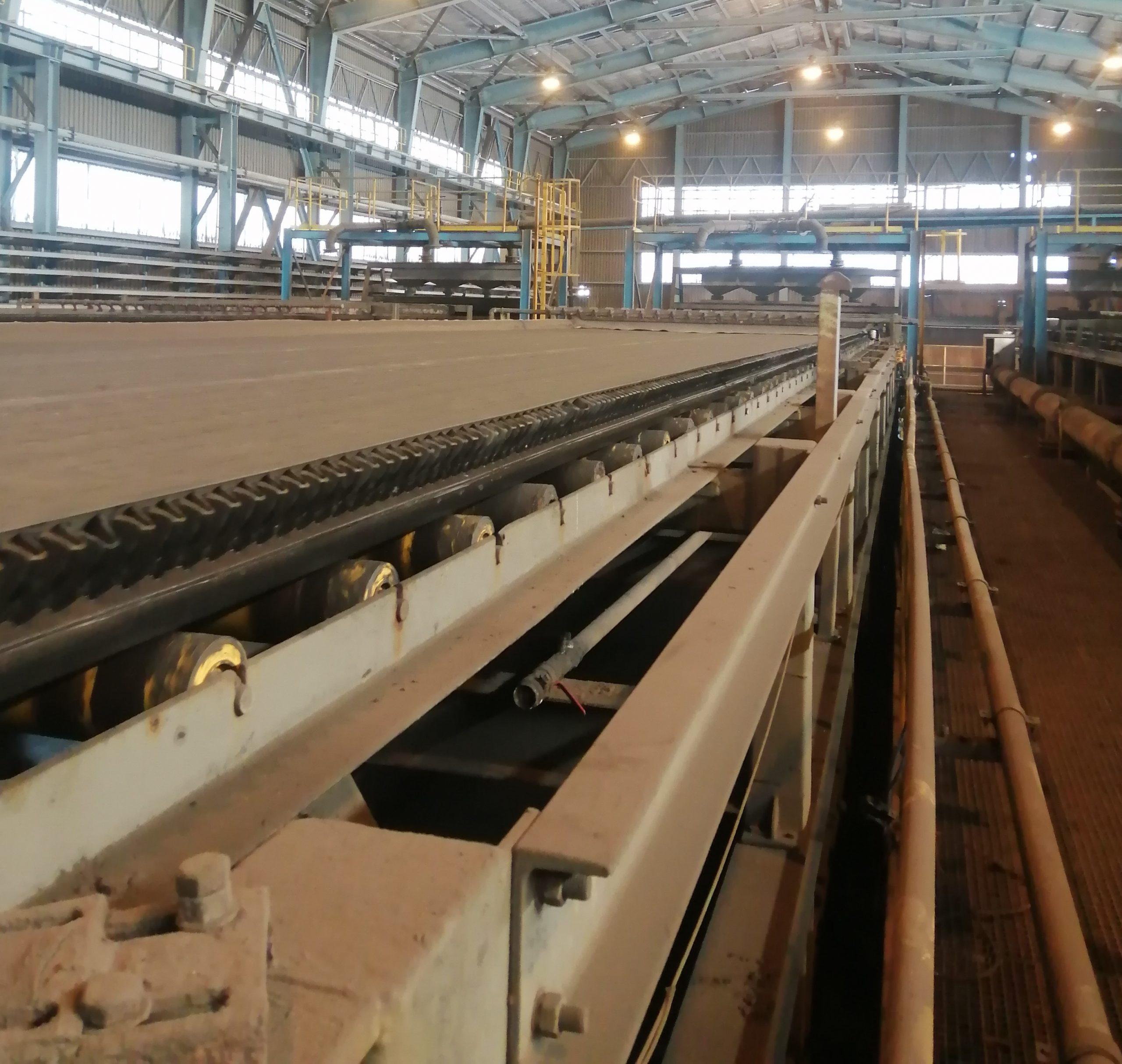 جلسه هفتگی استانداردسازی فرآیند در کارخانههای مجتمع صنعتی و معدنی گل گهر: بازرسی فرآیندی فیلترهای نواری خطوط تولید ۶،۵و۷شرکت صنعتی و معدنی گل گهر (بخش دوم)