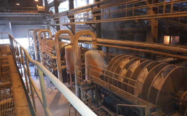 جلسه هفتگی استانداردسازی فرآیند در کارخانههای مجتمع صنعتی و معدنی گل گهر: بررسی اولیه فیلترهای دیسکی خط  تر کارخانه تغلیظ مگنتیت مجتمع  صنعتی و معدنی گلگهر